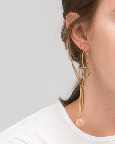 Elensio earring in pink - Founders & Followers - Rue - 1