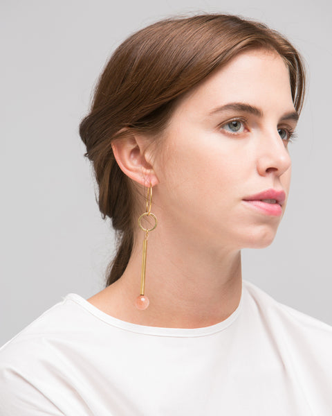 Elensio earring in pink - Founders & Followers - Rue - 2