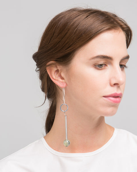 Elensio earring in sage - Founders & Followers - Rue - 2