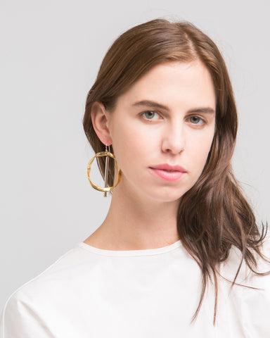 Ella earring - Founders & Followers - Rue - 1