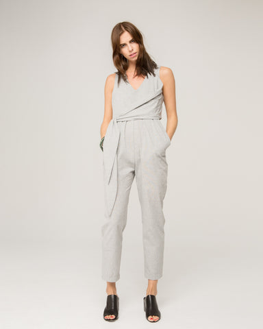 Aleksander Wrap Jumpsuit - Founders & Followers - Gary Bigeni - 1
