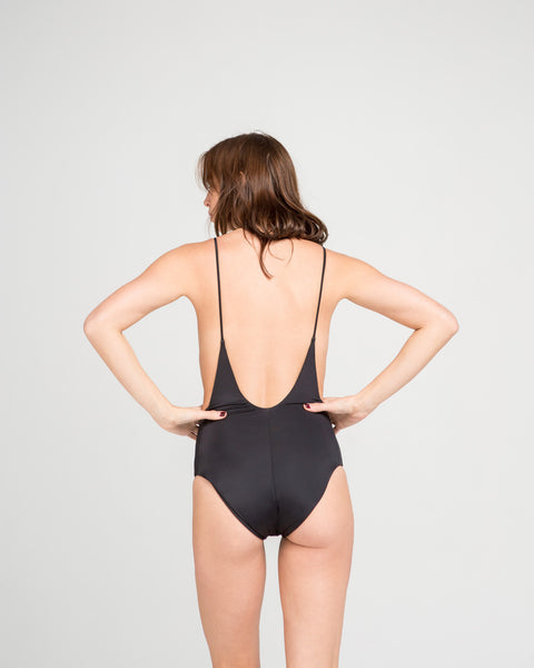 Dolores Maillot in Black - Founders & Followers - MANTA - 3