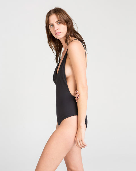 Dolores Maillot in Black - Founders & Followers - MANTA - 2