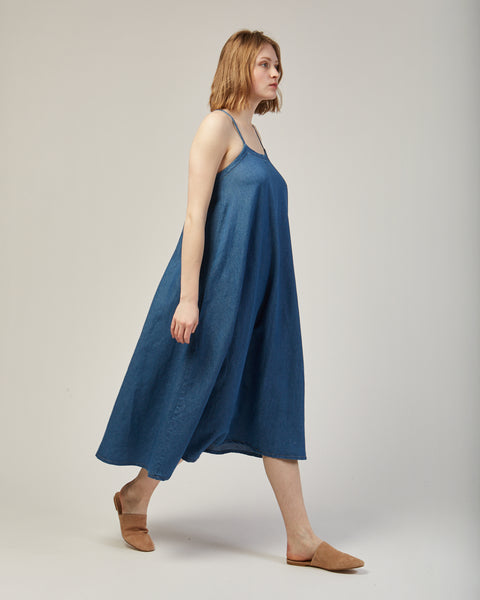 Loop dress in blue