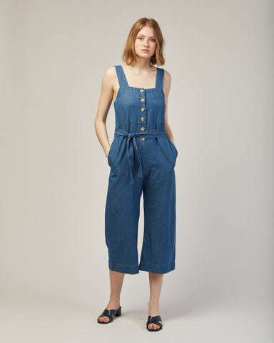 Palma jumpsuit in blue