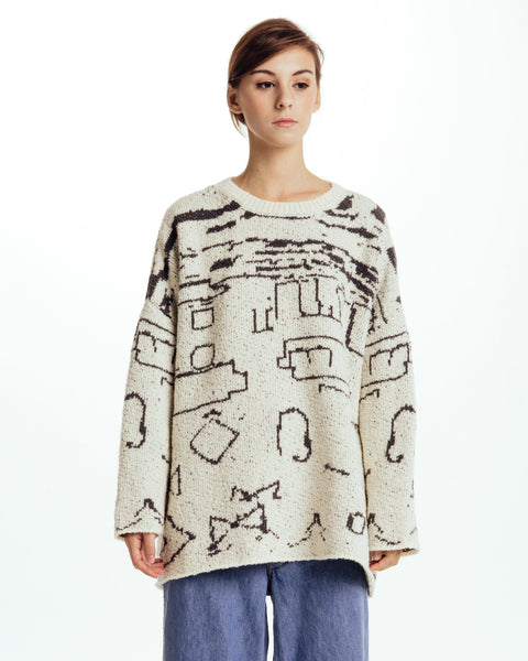 Sabi intarsia Sweater - Founders & Followers - Revisited Matters - 1