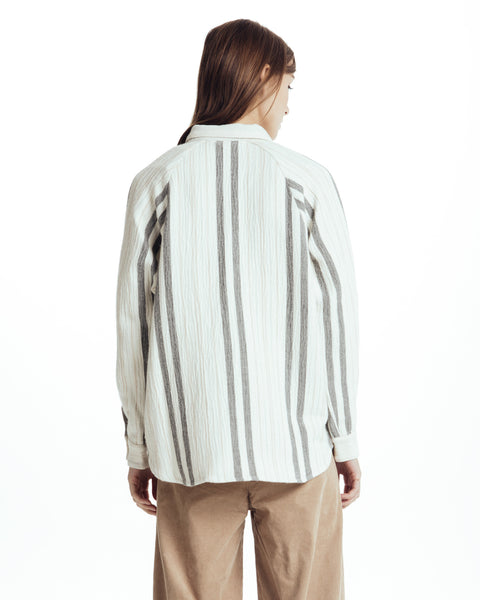 Santiago Candelaria Striped shirt - Founders & Followers - Sessun - 2