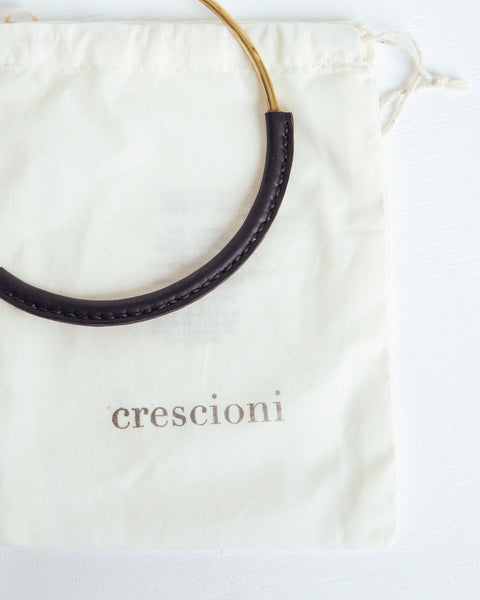 Kiva Necklace in Black - Founders & Followers - Crescioni - 3