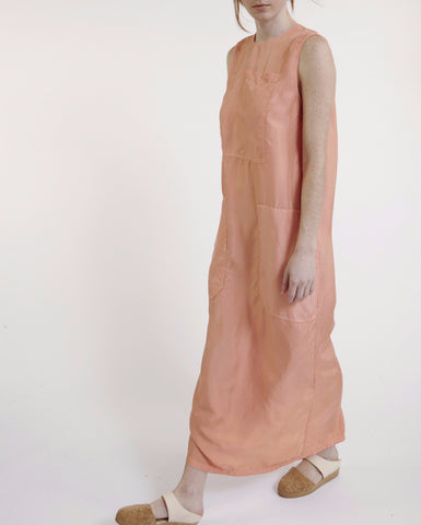 Jackson Silk Dress in Orange - Founders & Followers - LF Markey - 1