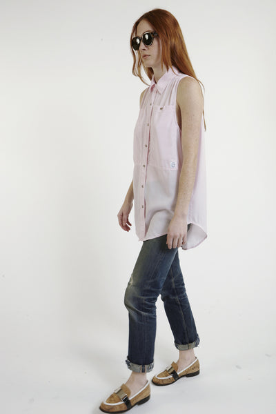 Oscar Silk Workshirt in Pink - Founders & Followers - LF Markey - 2