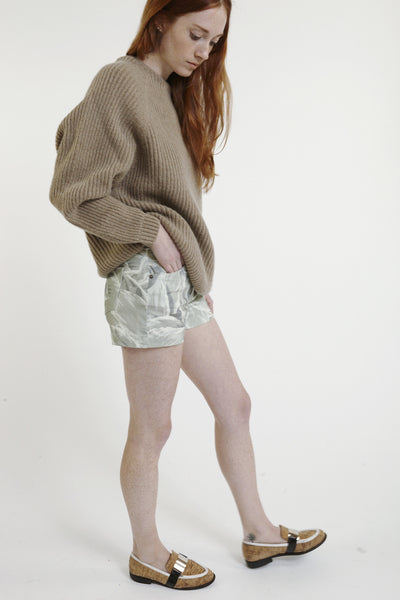 High-Rise Denim Shorts - Founders & Followers - Objects without meaning - 5