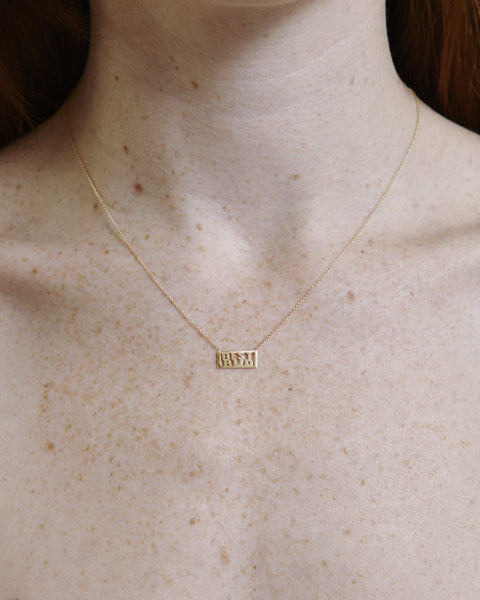 Best Bud Necklace in 14k gold - Founders & Followers - Winden - 2
