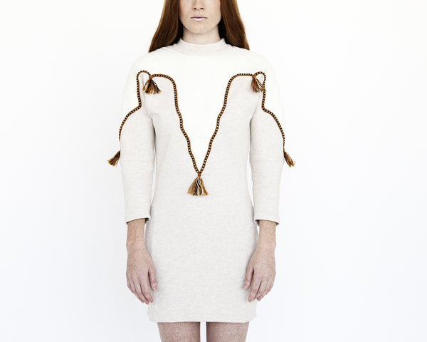 Numa Applique Sweater Dress - Founders & Followers - Nanushka - 4
