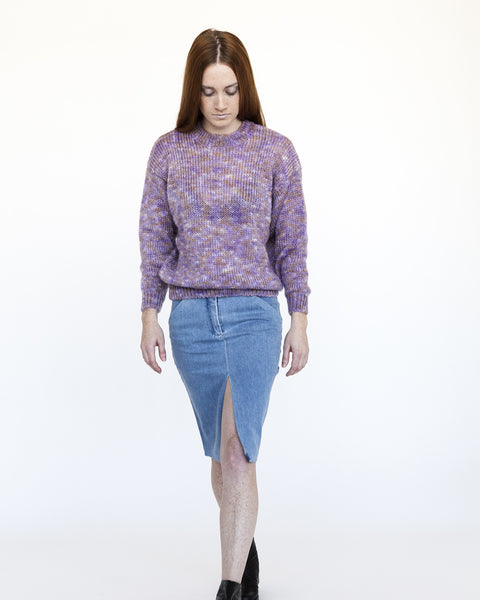 Sanne Rainbow Mohair Sweater - Founders & Followers - Nanushka - 3