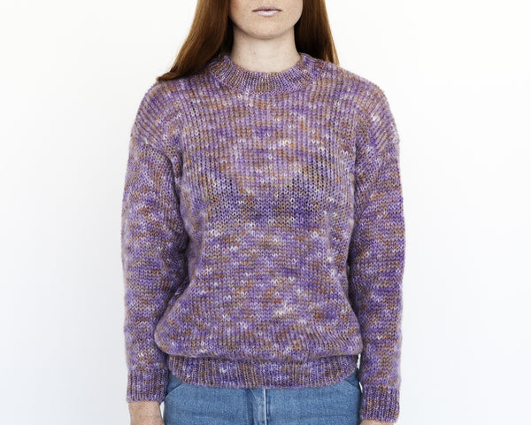 Sanne Rainbow Mohair Sweater - Founders & Followers - Nanushka - 2