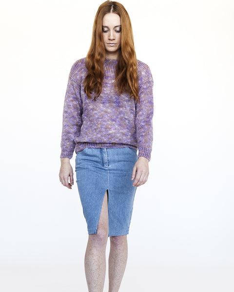 Sanne Rainbow Mohair Sweater - Founders & Followers - Nanushka - 1