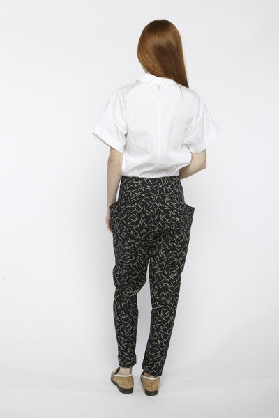 Printed Hip Pockets Pants - Founders & Followers - Suzanne Rae - 5