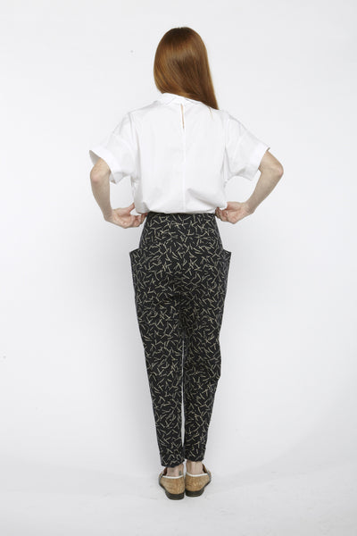 Printed Hip Pockets Pants - Founders & Followers - Suzanne Rae - 2