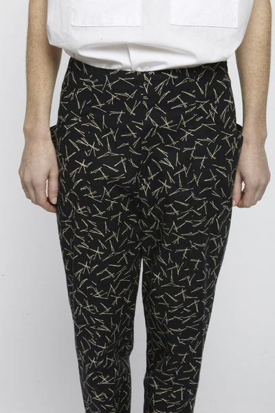Printed Hip Pockets Pants - Founders & Followers - Suzanne Rae - 6