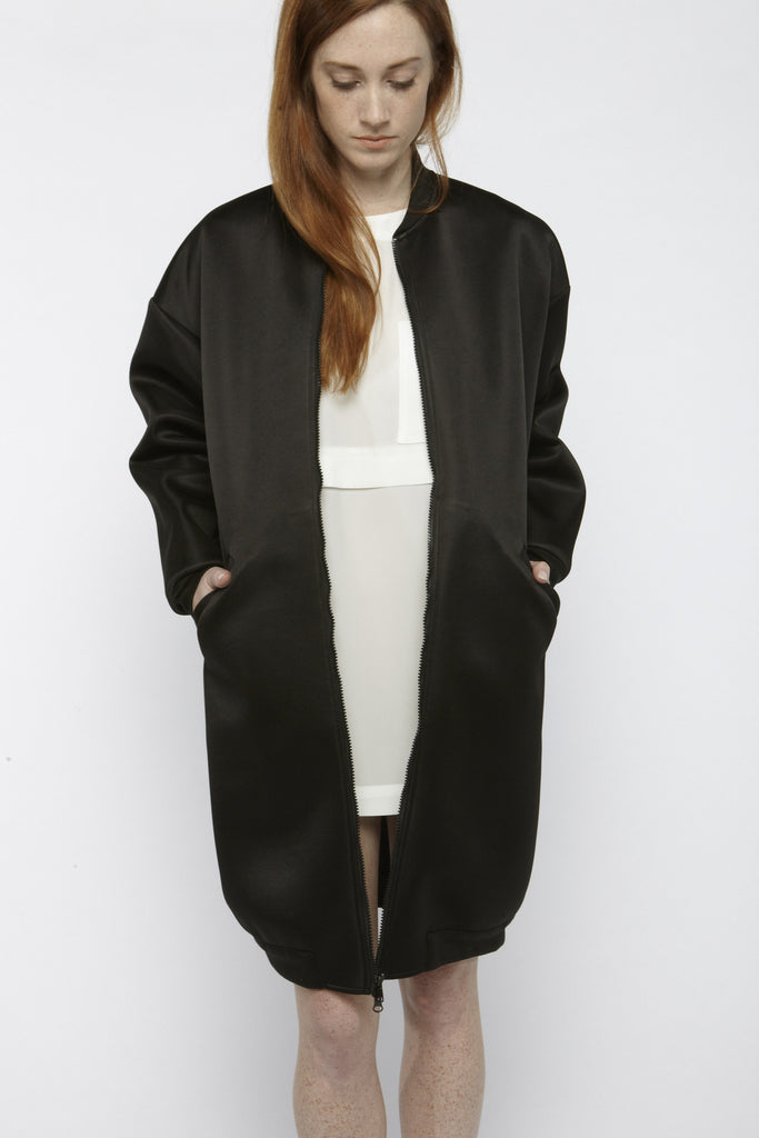Neoprene Bomber Jacket - Founders & Followers - Suzanne Rae - 11