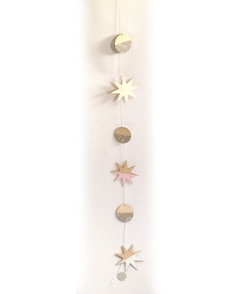 Stars and Full Moons Large Garland - F&F Exclusive - Founders & Followers - The Great Lakes Goods - 4