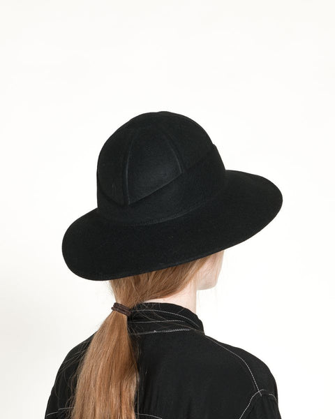 Safari Hat in Black - Founders & Followers - Clyde - 3