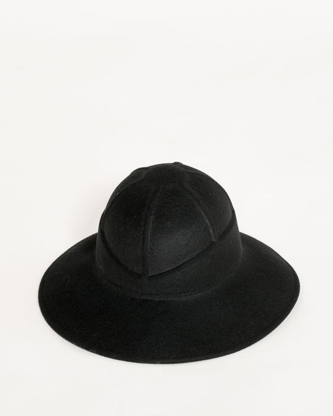 Safari Hat in Black - Founders & Followers - Clyde - 4