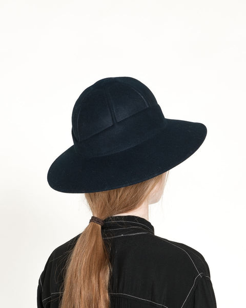 Safari Hat in Navy - Founders & Followers - Clyde - 3
