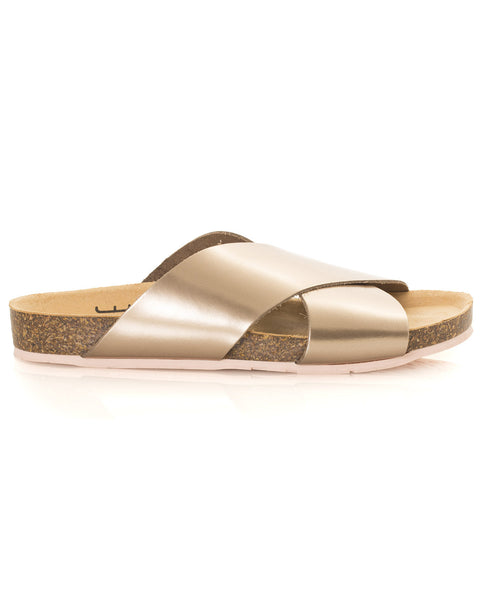 Luke Sandal in Metallic Twilight - Founders & Followers - Charlotte Stone - 2