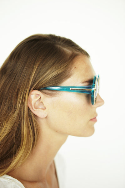Orbit in Crystal Turquoise - Founders & Followers - Karen Walker - 6