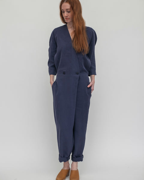 Suzu Jumpsuit in Navy - Founders & Followers - Reality Studio - 5
