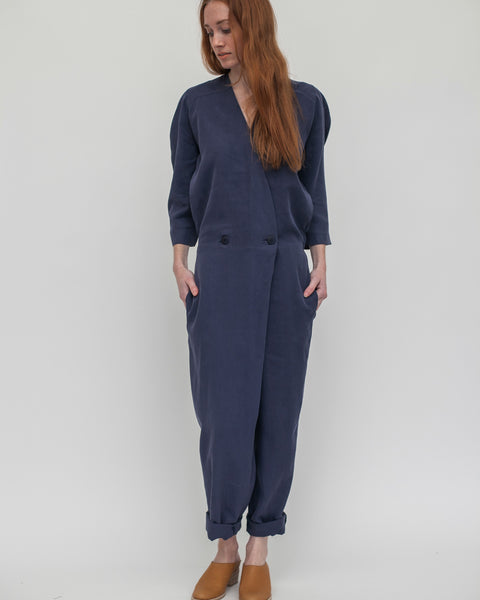 Suzu Jumpsuit in Navy - Founders & Followers - Reality Studio - 2
