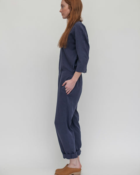 Suzu Jumpsuit in Navy - Founders & Followers - Reality Studio - 3