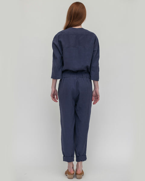 Suzu Jumpsuit in Navy - Founders & Followers - Reality Studio - 8