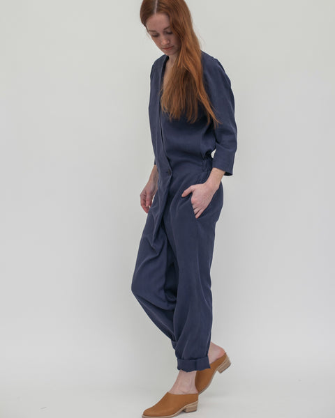 Suzu Jumpsuit in Navy - Founders & Followers - Reality Studio - 1