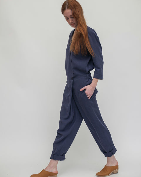 Suzu Jumpsuit in Navy - Founders & Followers - Reality Studio - 4
