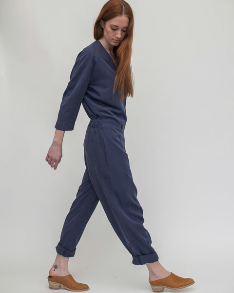 Suzu Jumpsuit in Navy - Founders & Followers - Reality Studio - 6