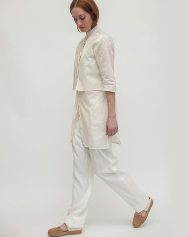 Haru Blouse in Cream - Founders & Followers - Reality Studio - 1