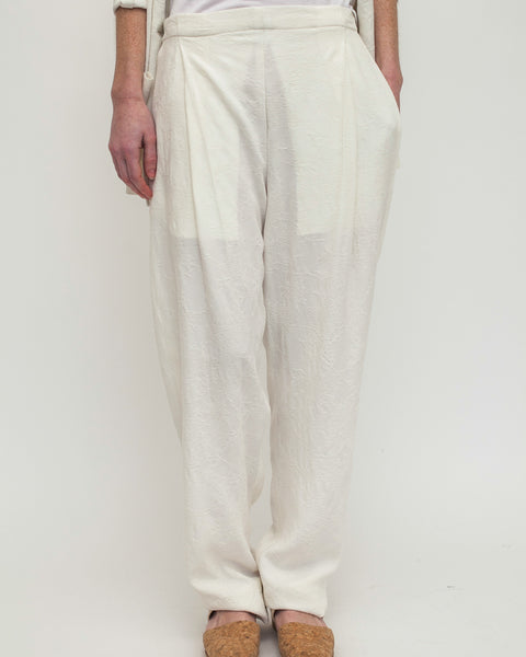 Chill Pants in White - Founders & Followers - David Michael - 2