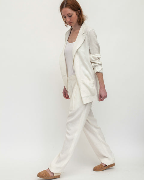 Chill Pants in White - Founders & Followers - David Michael - 3
