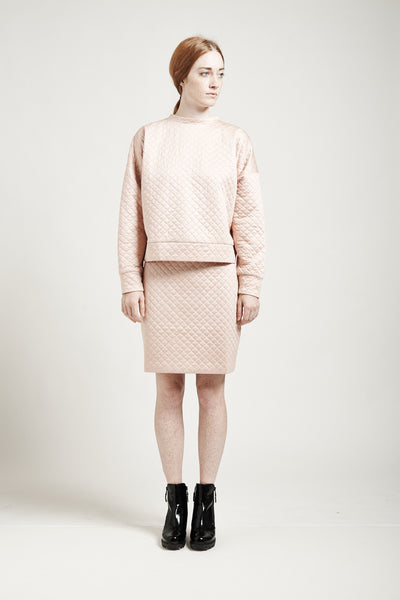 Jam Skirt in Pink - Founders & Followers - Nanushka - 2