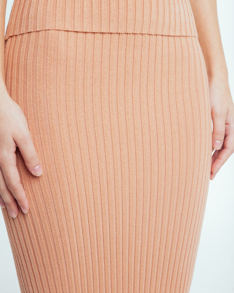 Nonna skirt in Bandaid - Founders & Followers - Giu Giu - 4