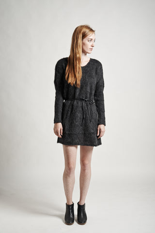 Stella Sweater Dress in Charcoal - Founders & Followers - Objects without meaning - 1