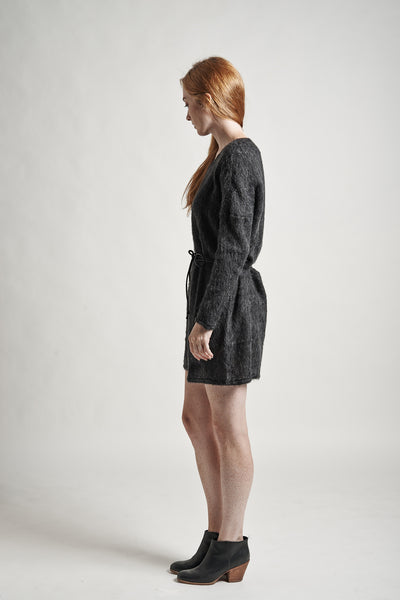 Stella Sweater Dress in Charcoal - Founders & Followers - Objects without meaning - 7