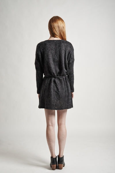 Stella Sweater Dress in Charcoal - Founders & Followers - Objects without meaning - 5