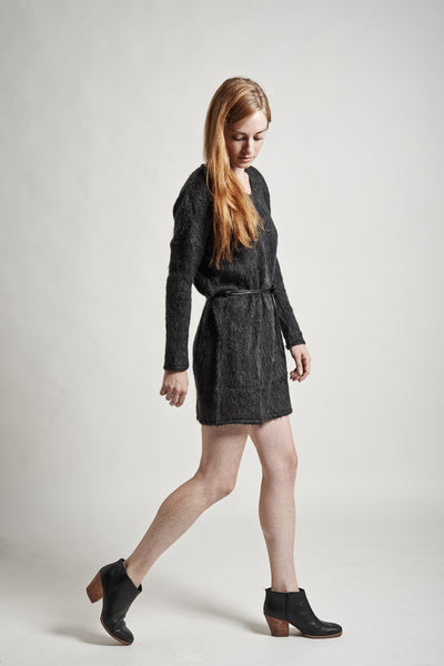 Stella Sweater Dress in Charcoal - Founders & Followers - Objects without meaning - 2