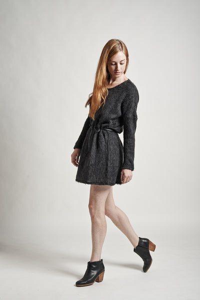 Stella Sweater Dress in Charcoal - Founders & Followers - Objects without meaning - 8