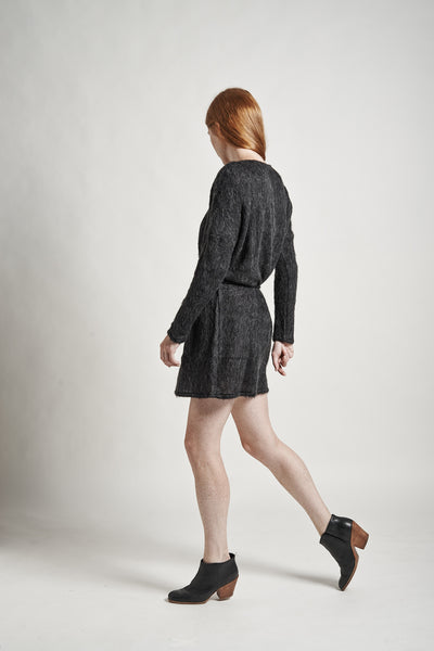Stella Sweater Dress in Charcoal - Founders & Followers - Objects without meaning - 3