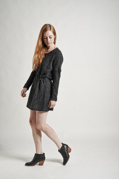 Stella Sweater Dress in Charcoal - Founders & Followers - Objects without meaning - 6