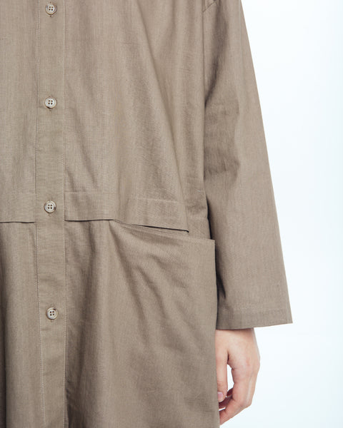 Cropped raincoat top in Forest - Founders & Followers - Revisited Matters - 4